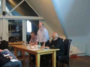 Prof. Graham Smith, Dickie Bellringer and Neal Lawson pictured at the launch